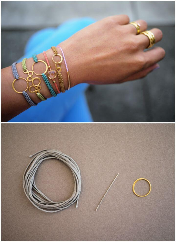 Make A DIY Macrame Bracelet