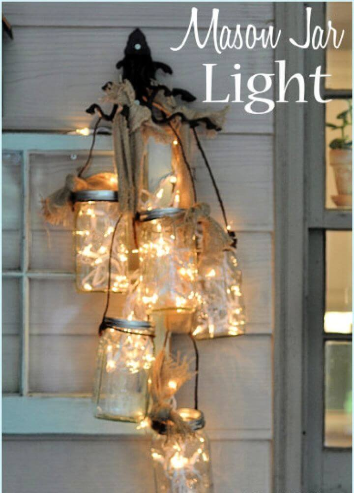 Make A DIY Mason Jar Light