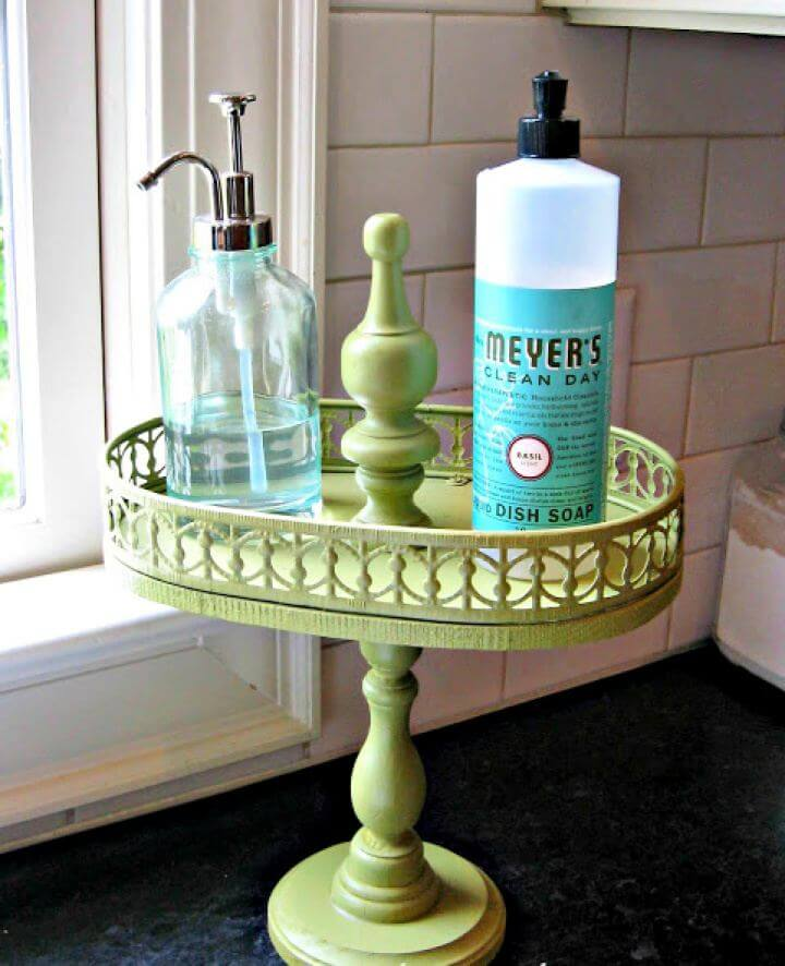 Make A DIY Tiered Vintage Tray