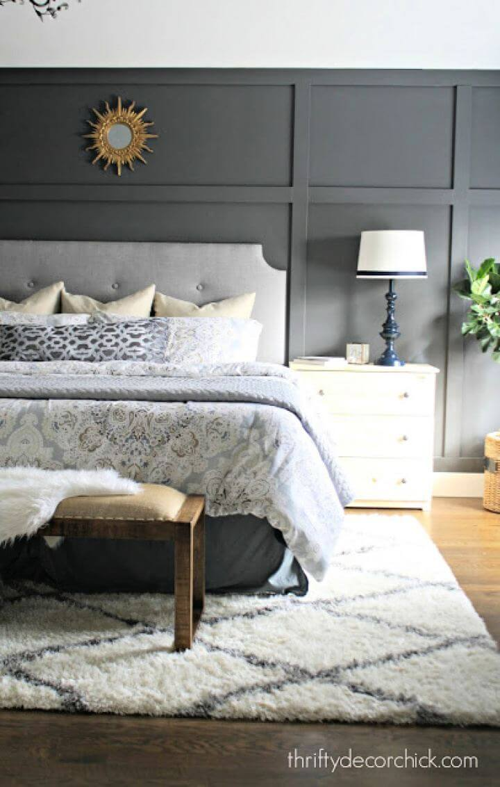 Make A DIY Tufted Headboard