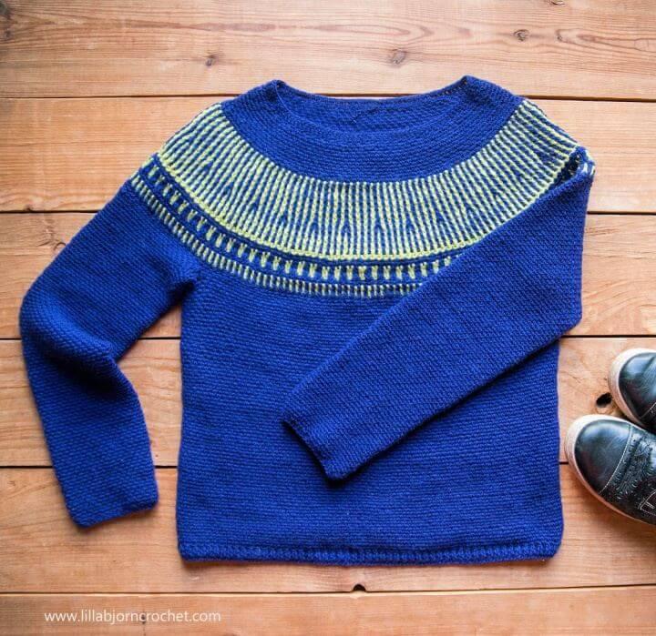 Make A Esja Sweater and Crochet Brioche