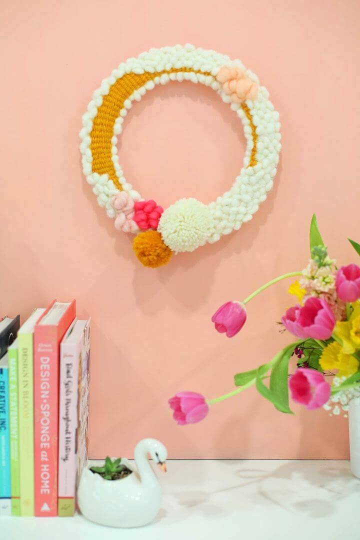 Make A Modern Woven Wreath For Your Spring Decor
