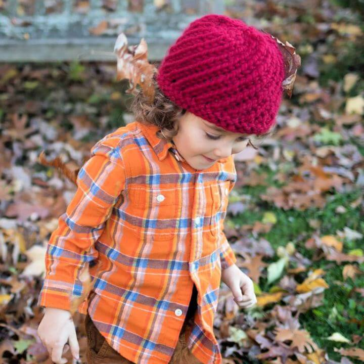 Make Cranberry Swirl Hat Knitting Pattern