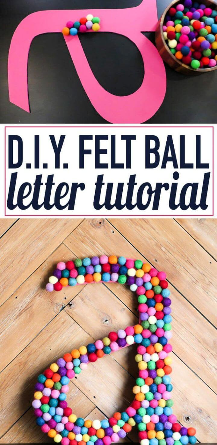Make Decorative Letters for Your Walls