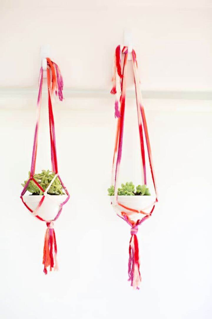Make Easy DIY Macrame Planters Tutorial