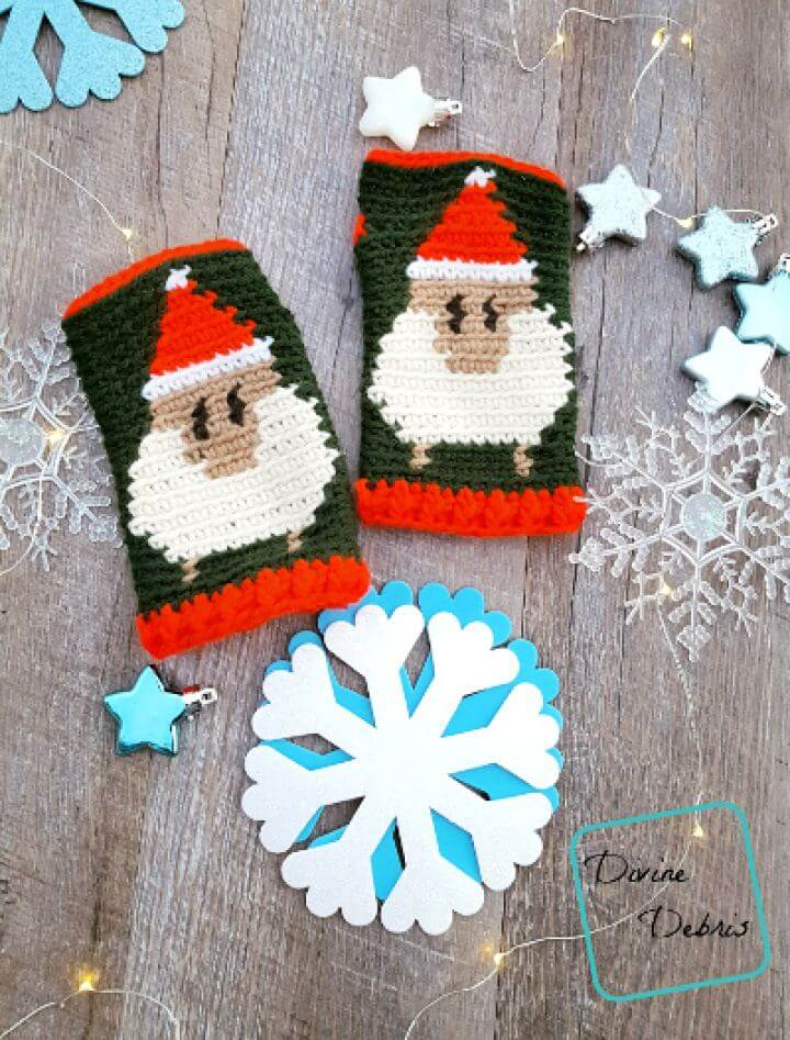 Make Your Own Crochet Gloves Free Pattern