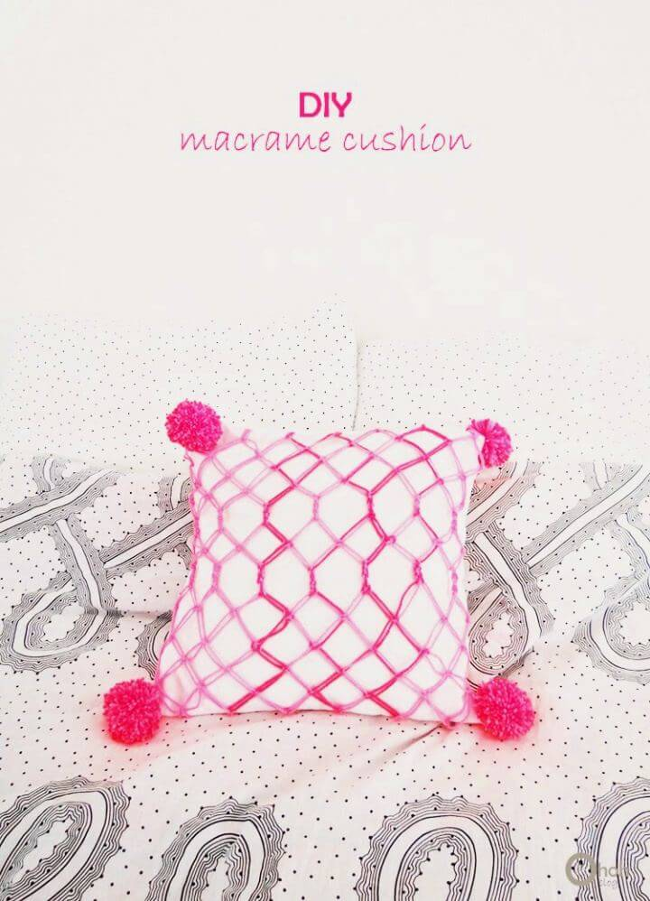 Make Your Own Macrame Cushion