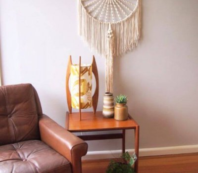 Make Your Own Macrame Dreamcatcher