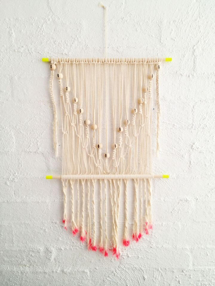 Make Your Own Macrame Wall Hanging