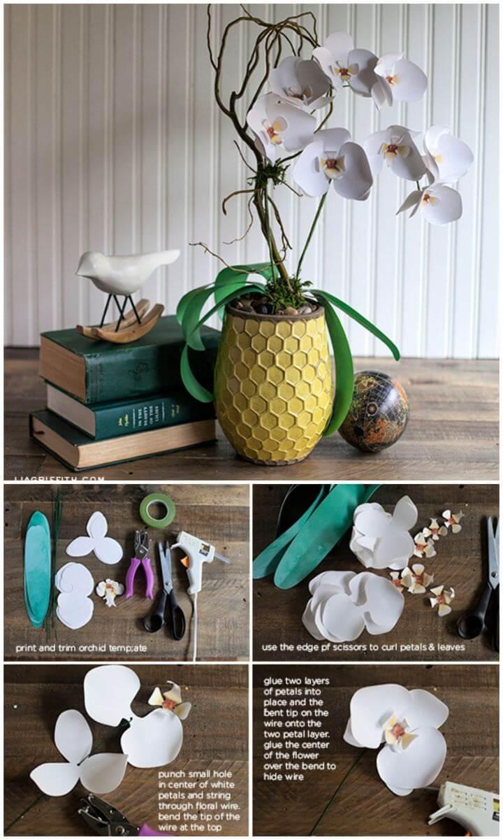 paper flowers crafts, diy crafts, diy ideas,