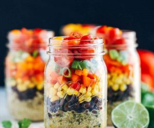 Mason Jar Meals, southwestern quinoa