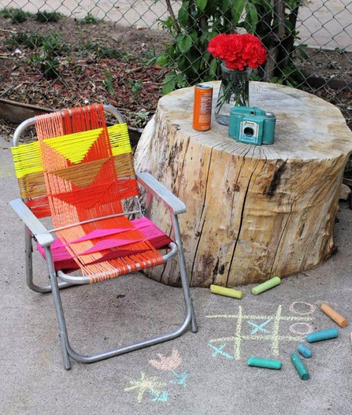 Simple DIY Aluminum Chair Makeover