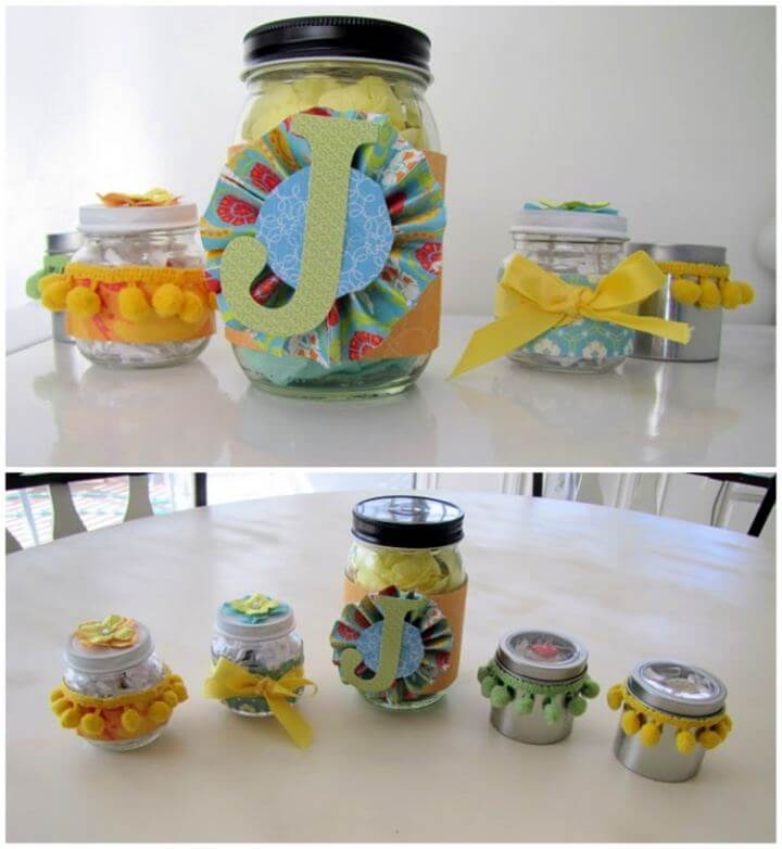 Simple DIY Baby Food Jar Gift Packaging
