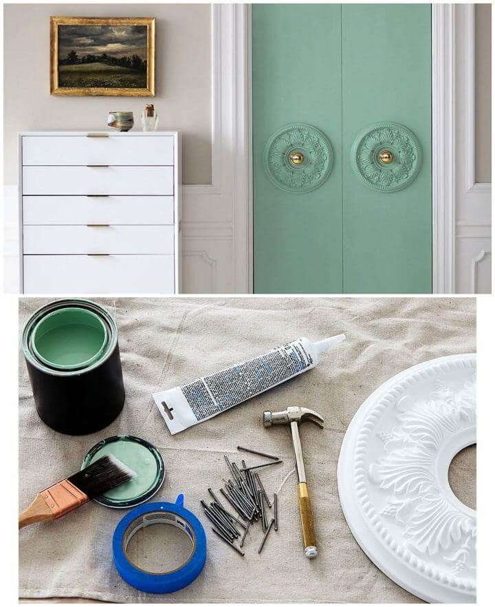 Simple DIY Closet Door Update For Room