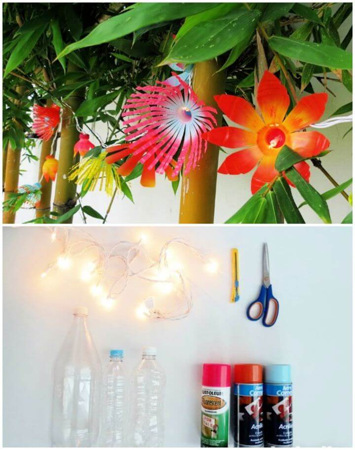 Simple DIY String Outdoor Lights on a Shoestring Budget