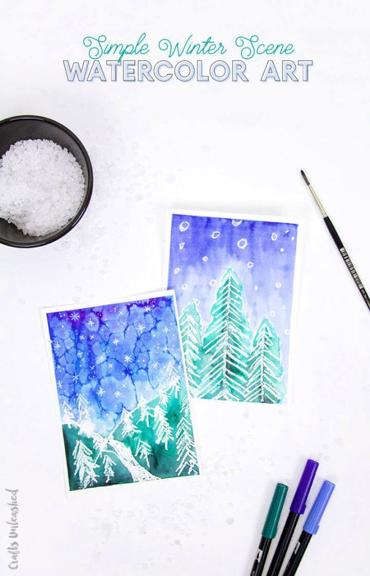 watercolor ideas, watercolor art, watercolor tutorial,