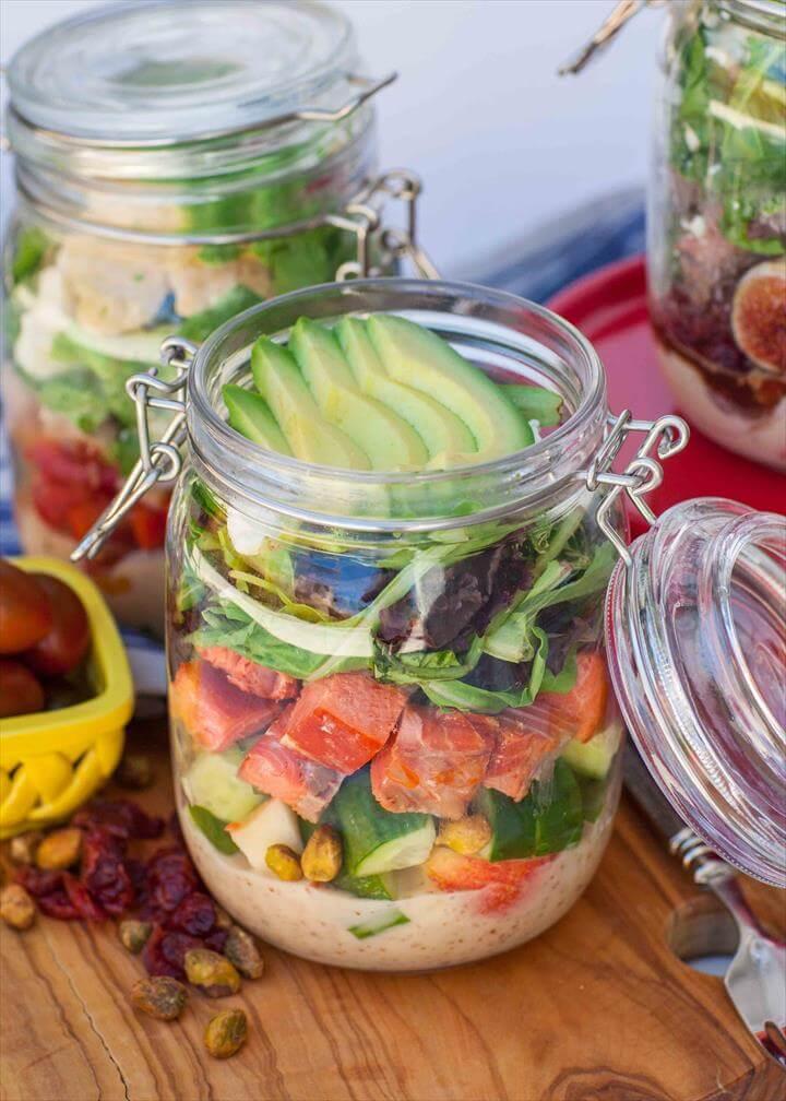 Mason Jar Salad Kits