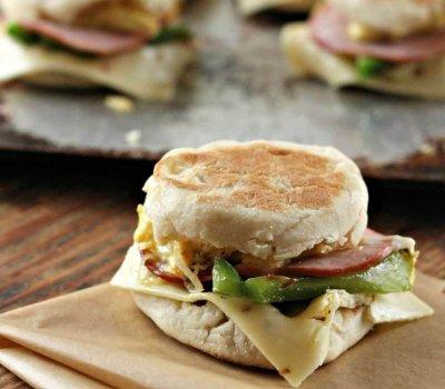 Southwest Breakfast Sandwiches