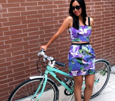 Best DIY Matching Cropped Top And Skirt