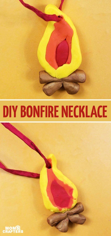 Bonfire Craft – DIY Polymer Clay Necklace