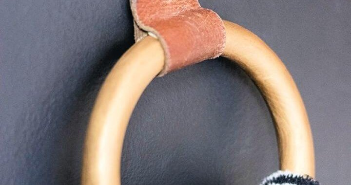 Build A DIY Hand Towel Ring