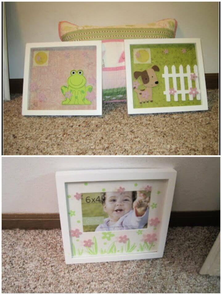 Build A DIY Nursery Decorating Art Idea