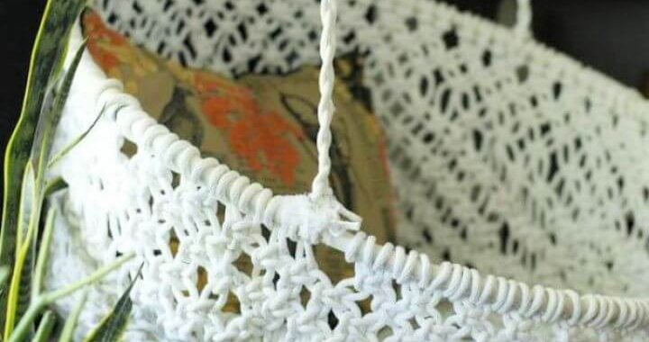 Build DIY Hanging Macrame Chair