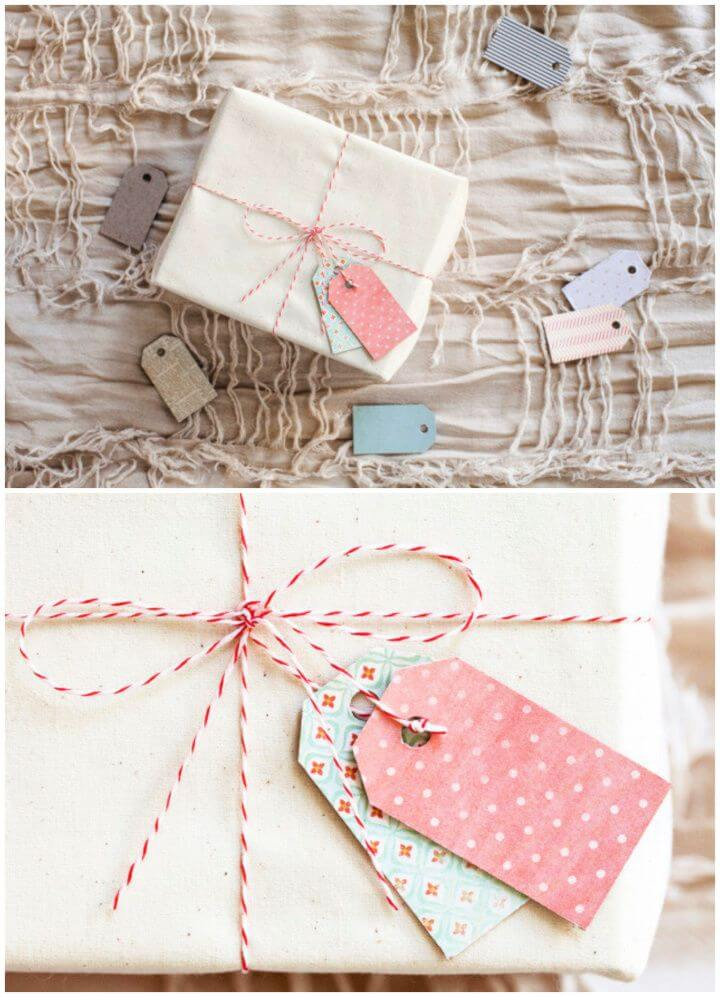 Build Your Own A DIY Cereal Box Gift Tags