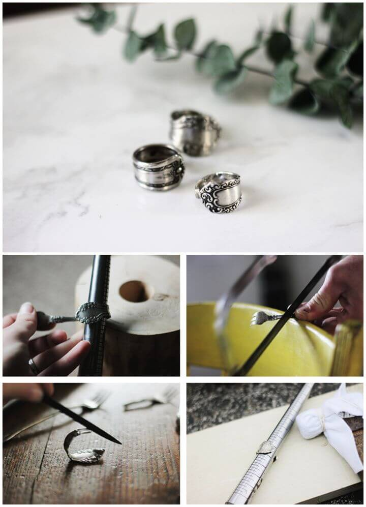 Build Your Own A DIY Spoon Ring
