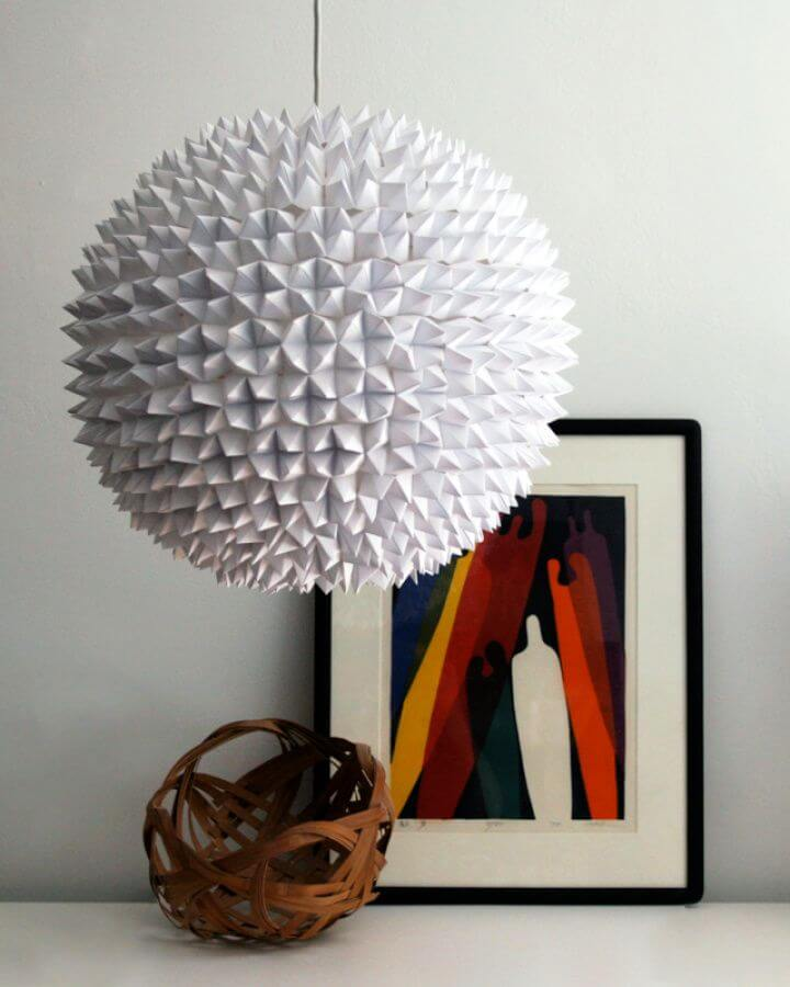 Build Your Own DIY Faceted Pendant Light