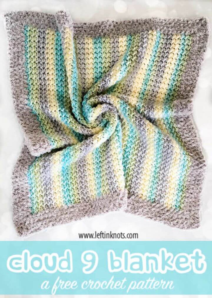Cloud Nine Blanket Free Crochet Pattern