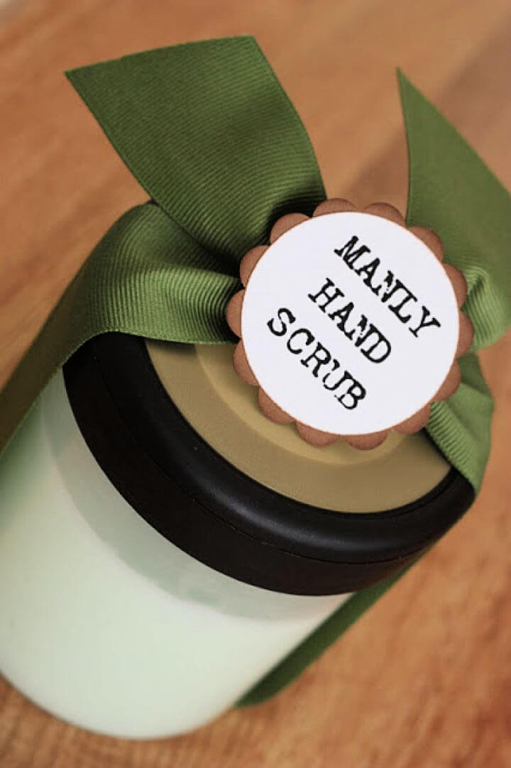 Create A DIY Manly Hand Scrub