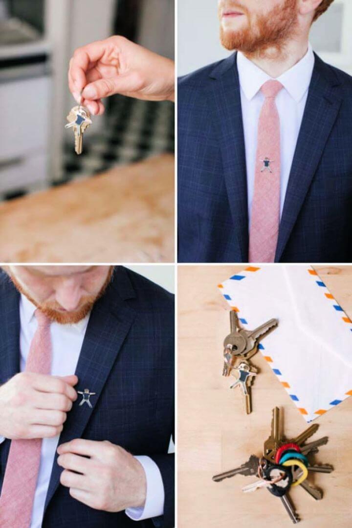 Create A DIY Shrinky Dink Tie Tack