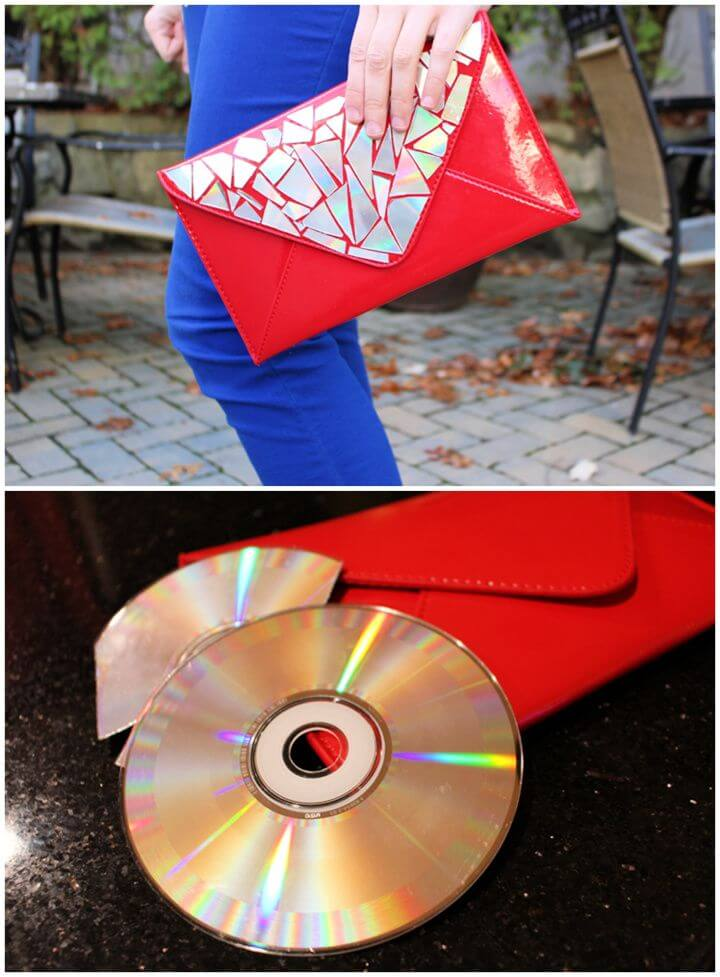 Create A DIY Sparkly Clutch
