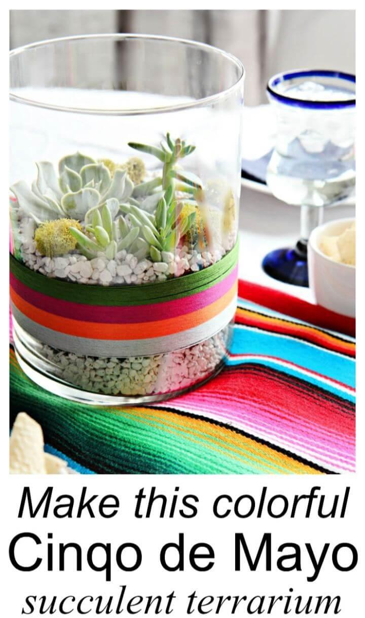 Create A DIY Succulent Terrarium For Friends
