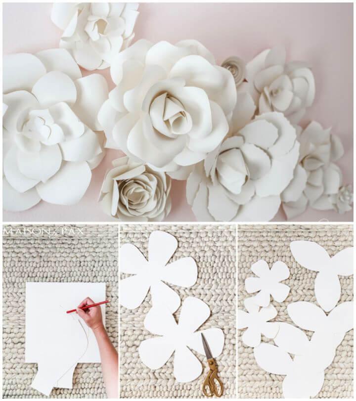 Create DIY Giant Paper Flowers