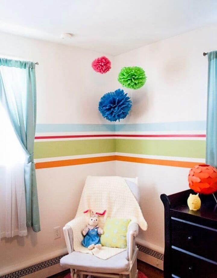 Create Your Own A DIY Pom Pom Nursery Decor