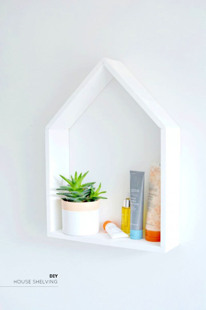 Create Your Own DIY House Shelving