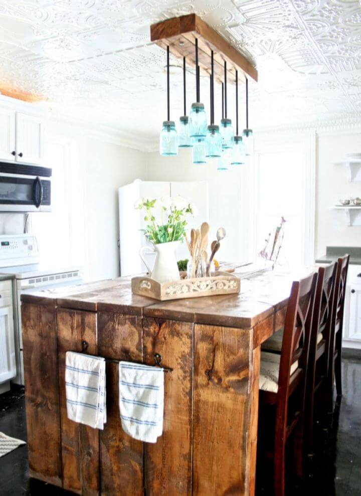 Create Your Own DIY Mason Jar Chandelier