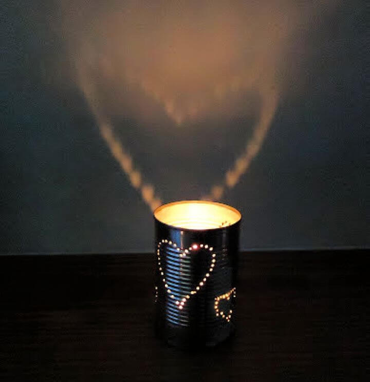 Create Your Own DIY Tin Can Lanterns