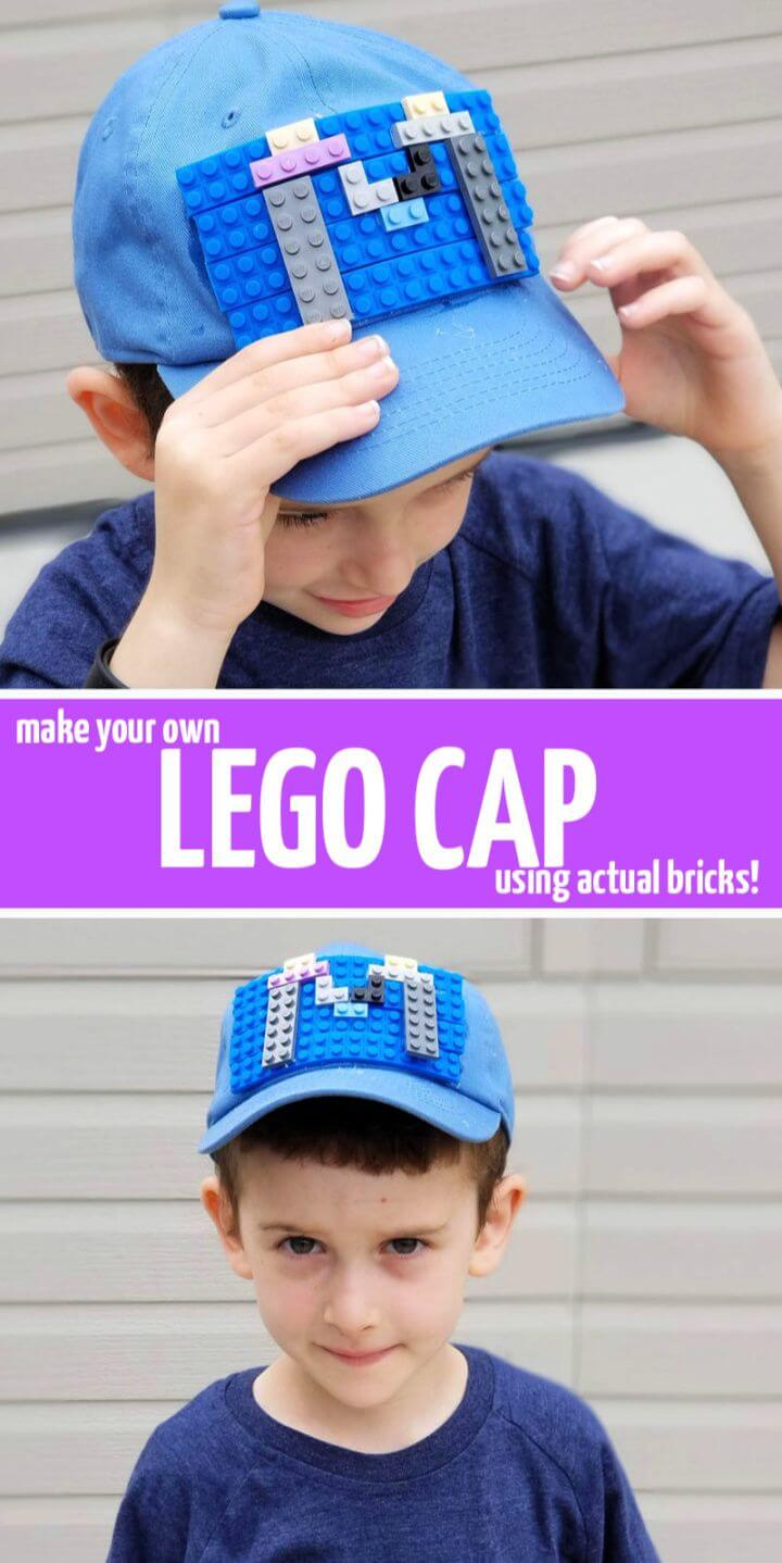 Create a DIY Super Cool Cap using Real Bricks