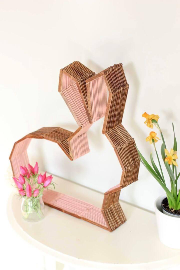 Cute DIY Modern Bunny Decor