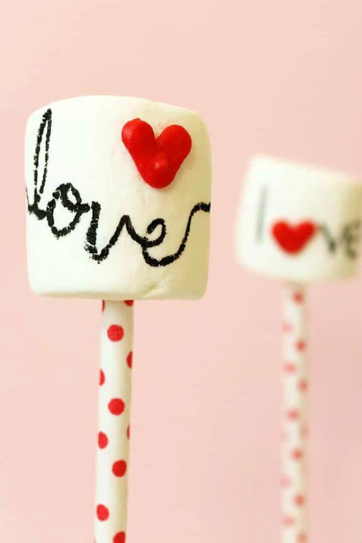 DIY Homemade Heart Sprinkles