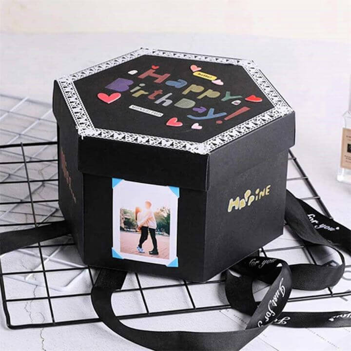 DIY Memory Photo Album Birthday Anniversary Gifts
