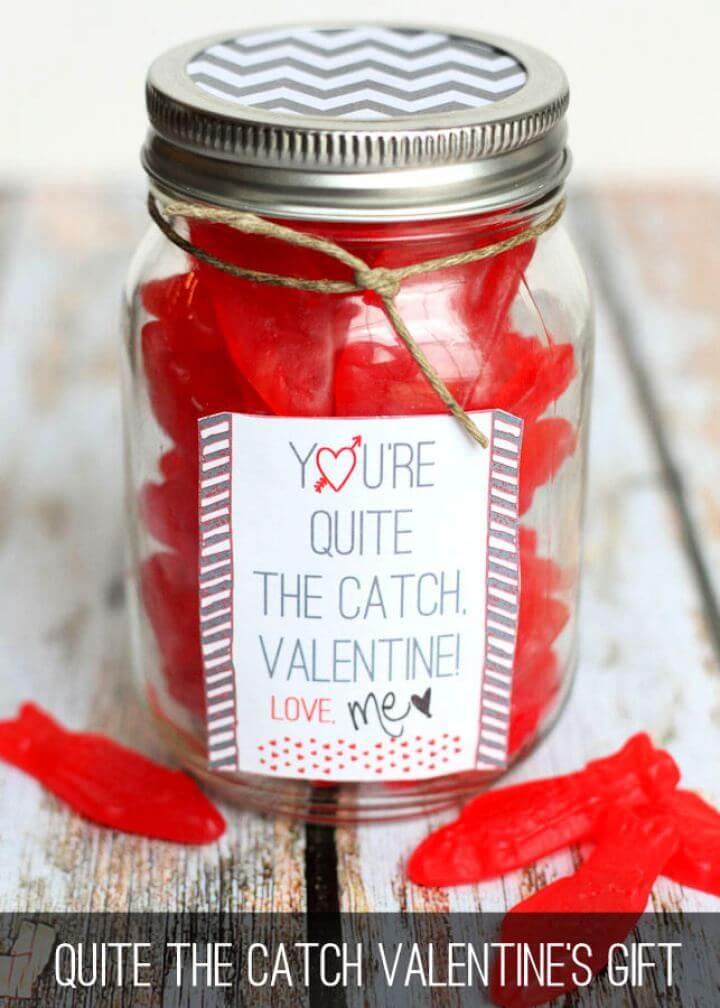 DIY Quite The Catch Valentine