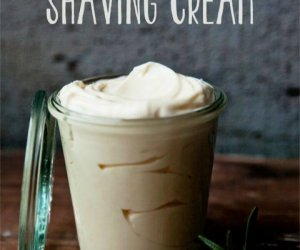 DIY Rosemary Mint Shaving Cream
