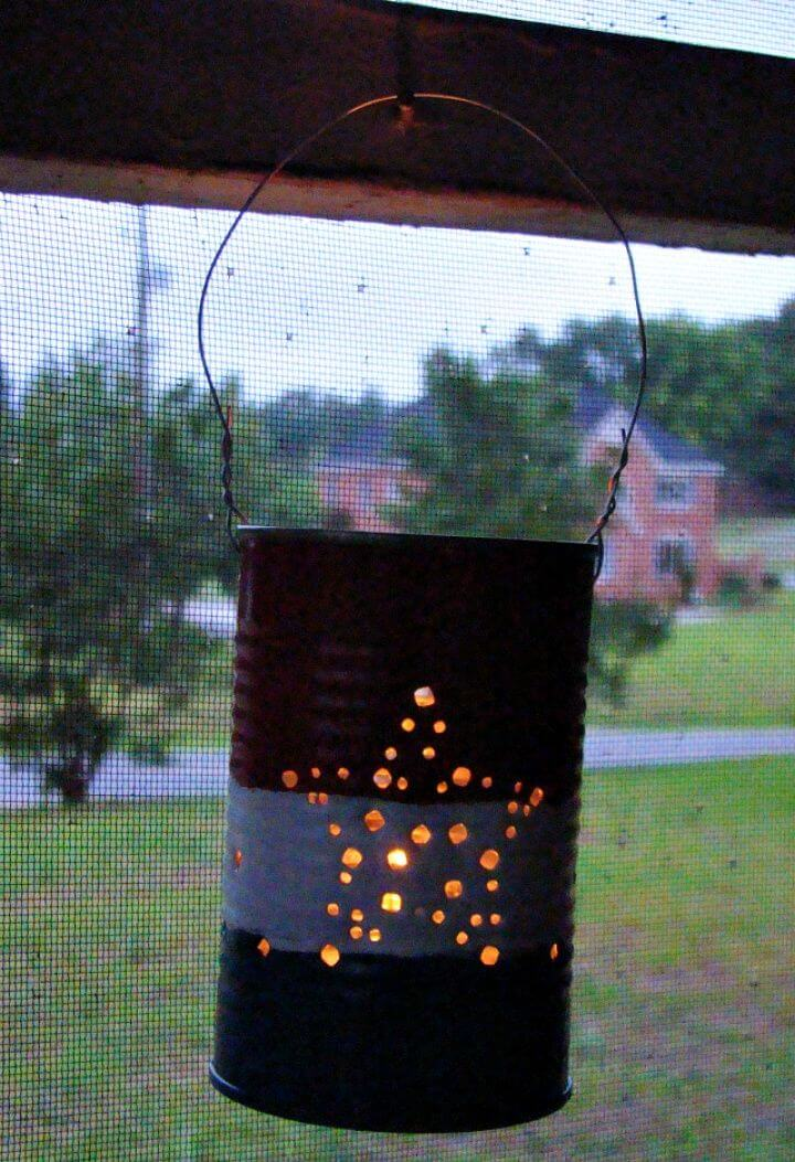 DIY Summer Fun Series Tin Can Lanterns