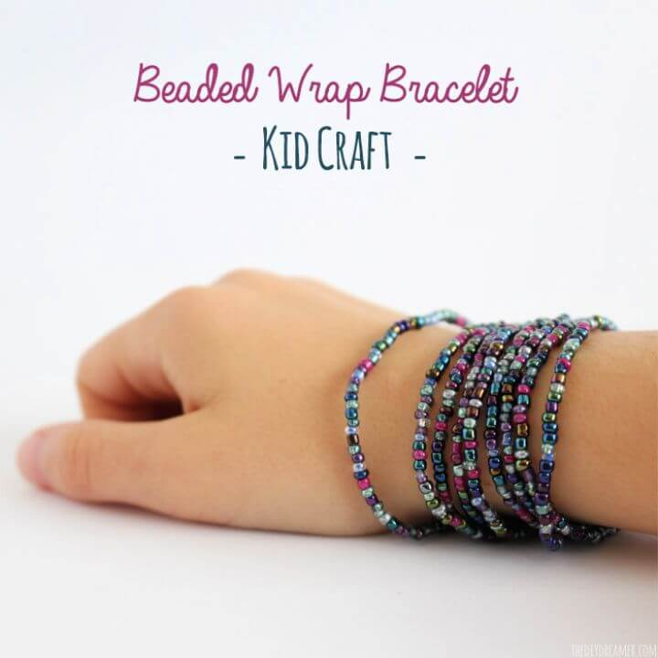 Easy DIY Beaded Wrap Bracelet Tutorial