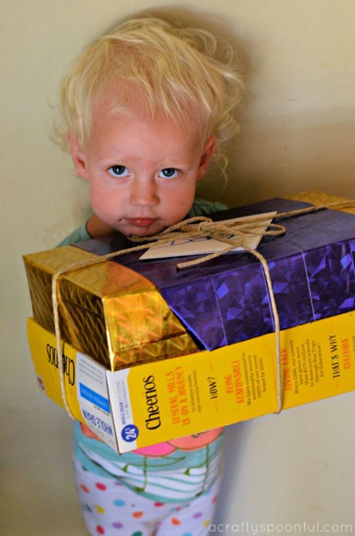 Easy DIY Cereal Gift Box Tutorial
