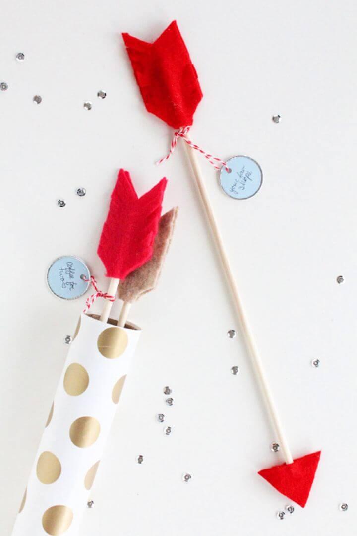 Easy DIY Date Idea Arrows For Boyfriend